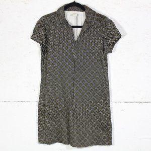 Compagnie Internationale Vintage Zip Up Mini Dress